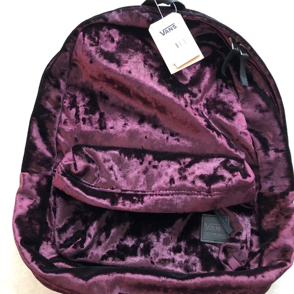 fee58d2580 Vans Velvet Deana Backpack NWT